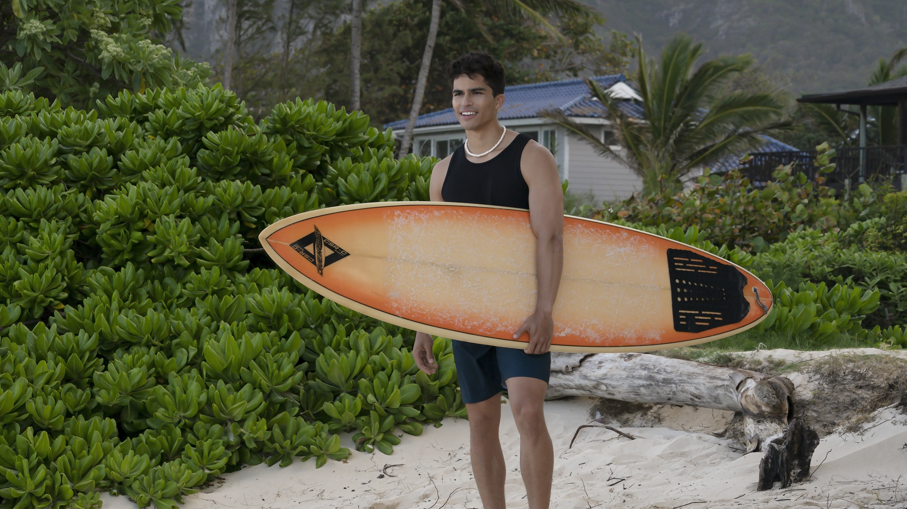 """DOOGIE KAMEALOHA, M.D. - """"Love Is a Mystery"""" - Lahela tackles two mysteries: the root cause of a tourist's sudden paralysis and Walter's feelings. (Disney/Karen Neal) ALEX AIONO"""