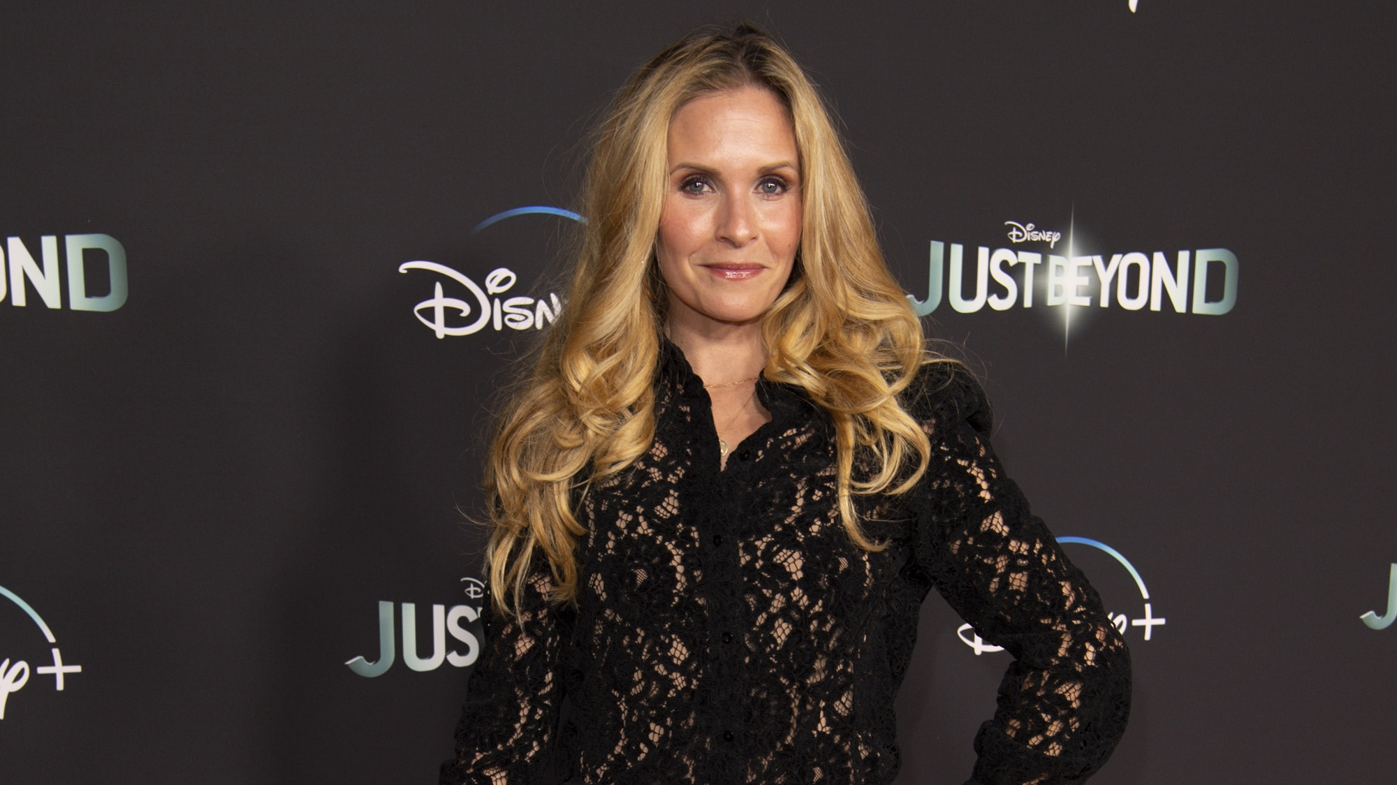 """JUST BEYOND - Stars of the R.L. Stine inspired Disney+ Original series """"Just Beyond"""" attended the Drive-In Premiere Event at West Los Angeles College, Tuesday, October 12. All episodes of """"Just Beyond"""" are available to stream Wednesday, October 13 on Disney+.  (Disney/Richard Harbaugh) SALLY PRESSMAN"""