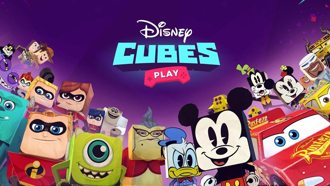 Disney Cubes: imprima, monte e colecione seus personagens preferidos