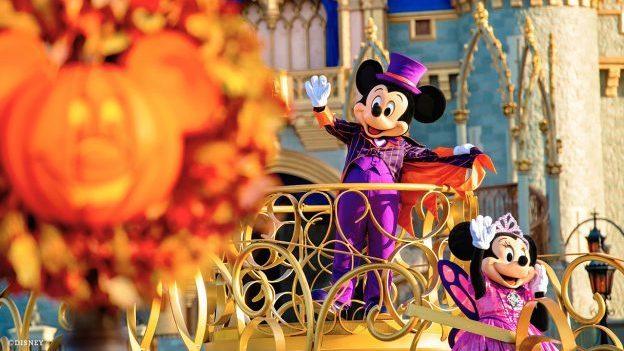 Experências especiais de Halloween chegam aos Parques do Walt Disney World