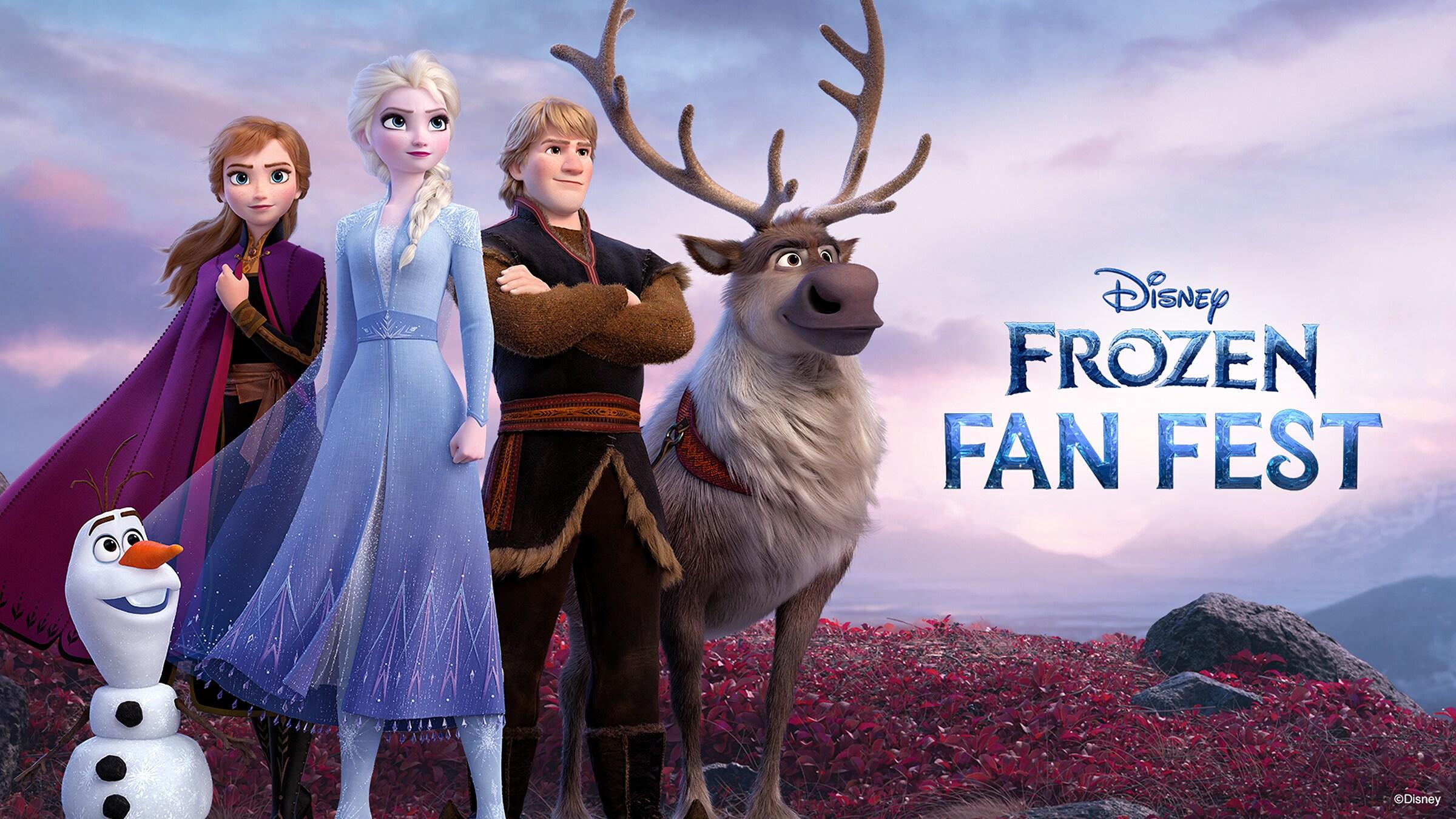 Descubre #FrozenFanFest: Fiesta Digital