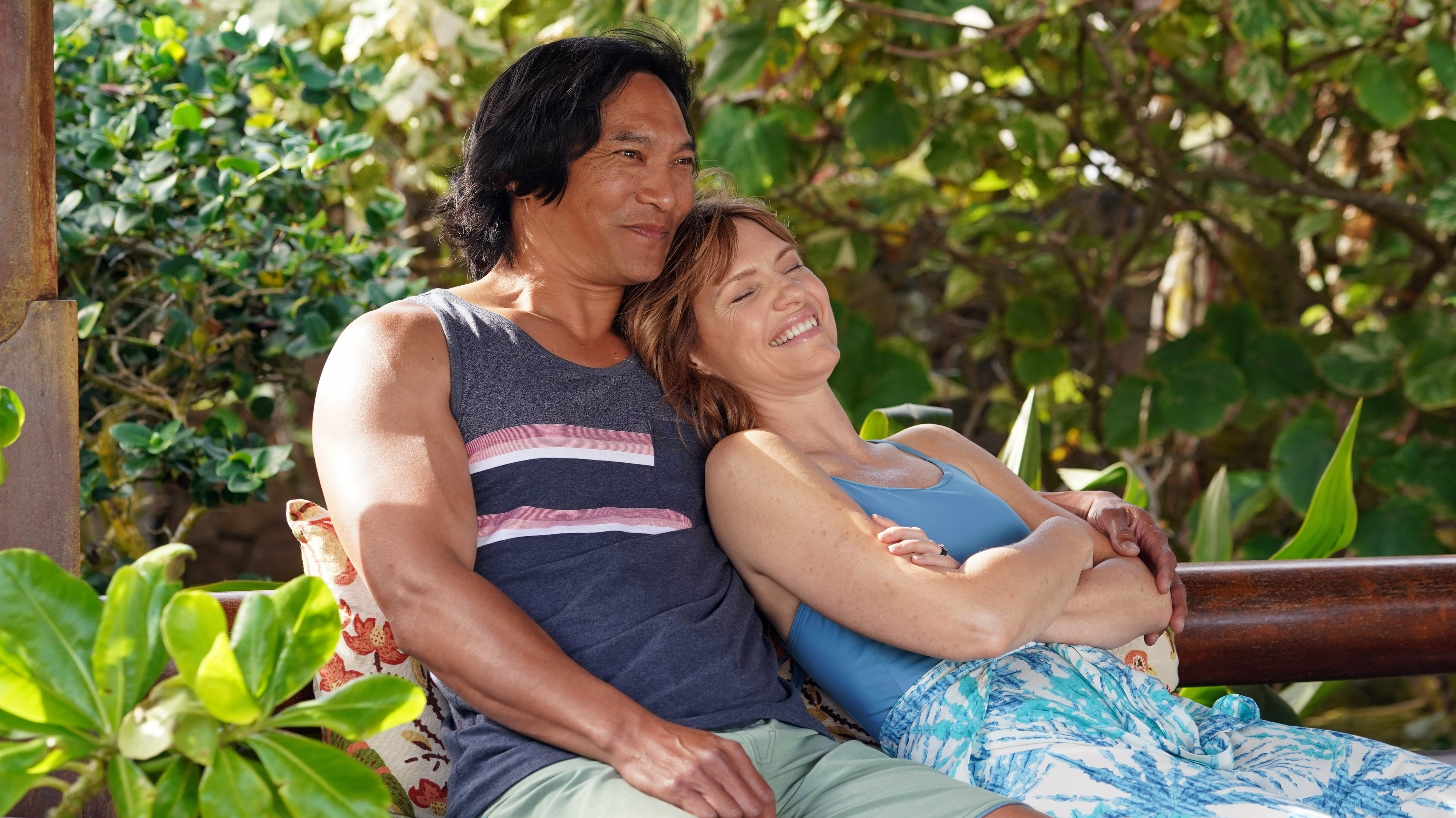 """DOOGIE KAMEALOHA, M.D. - """"Aloha - The Hello One"""" - Lahela is eager to experience some of life's firsts, but professional responsibilities interfere. (Disney/Karen Neal) JASON SCOTT LEE, KATHLEEN ROSE PERKINS"""