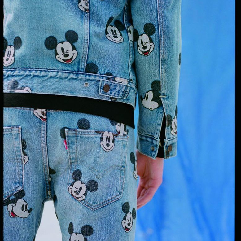 Levi's Is Giving Us the Cutest Mickey Mouse Denim Collection