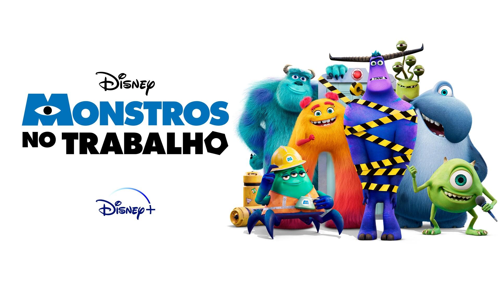 Monstros no Trabalho  - Só no Disney+