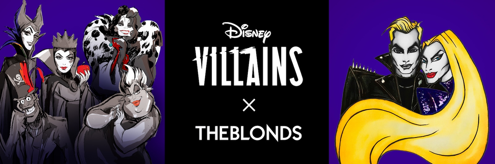 The Blonds x Disney Villains poster