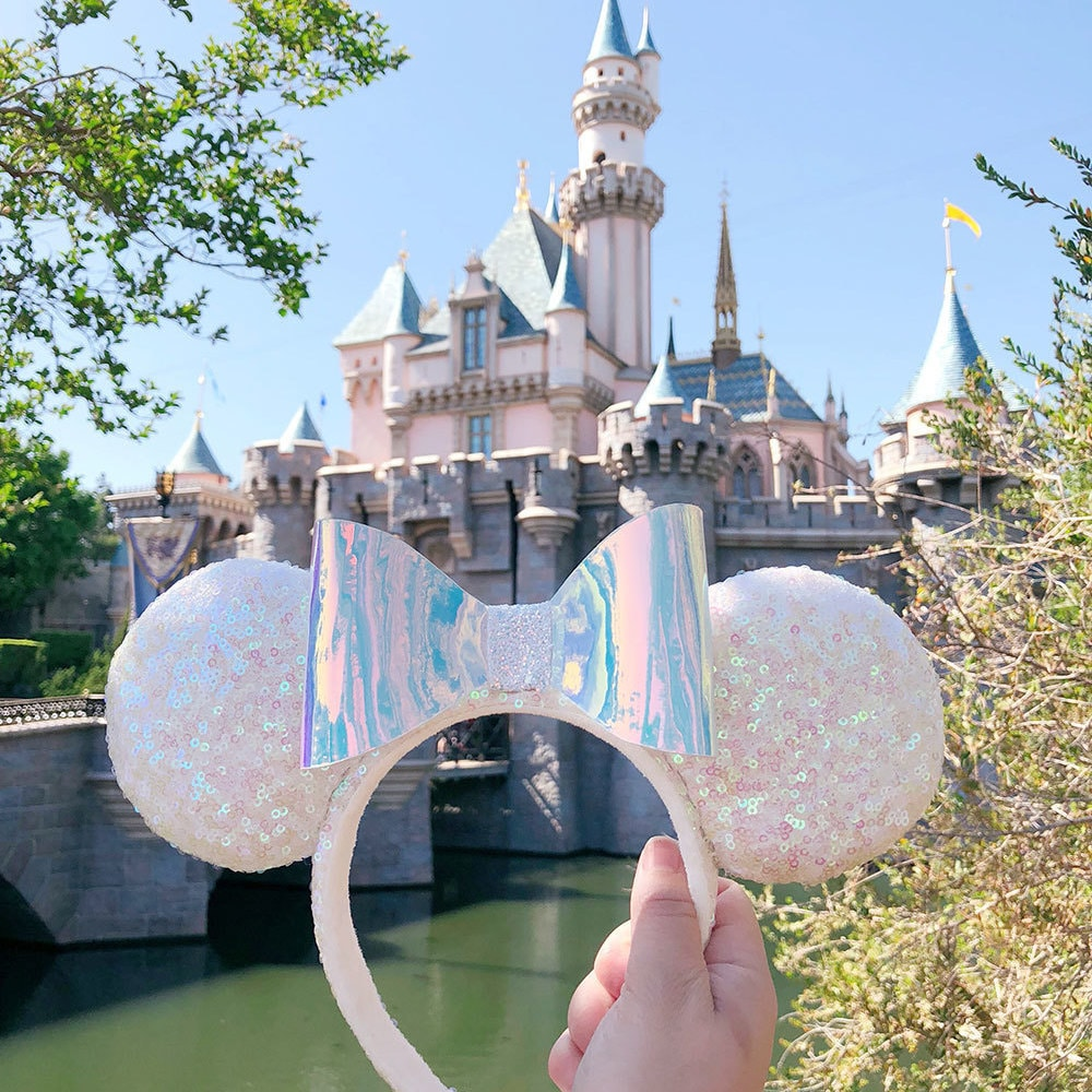 Disney Parks Will Be Releasing Iridescent Minnie Ears to Add to Your Sparkly Collection