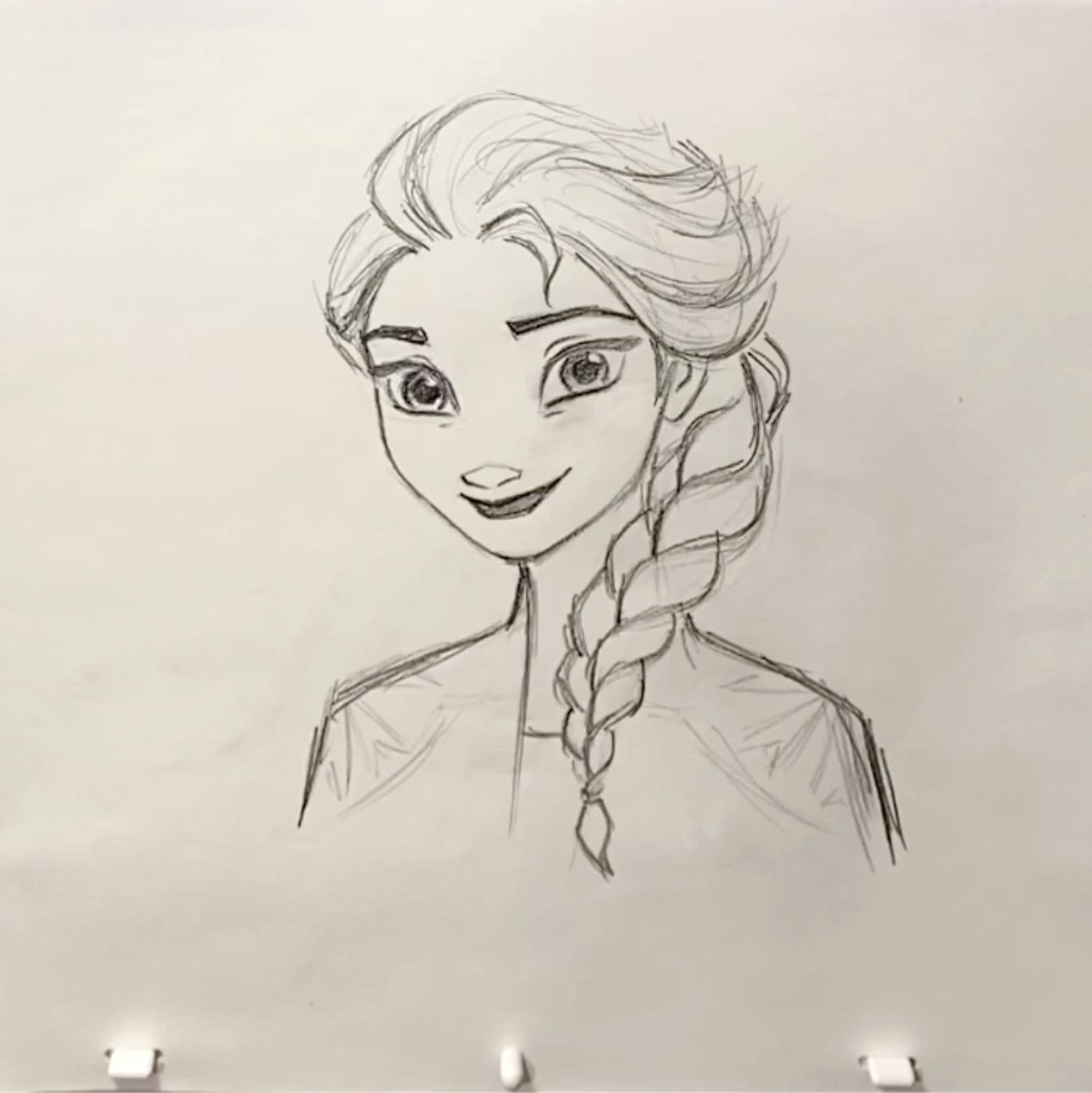 Coolest Drawing Lesson Ever: How to Draw Elsa From Frozen 2