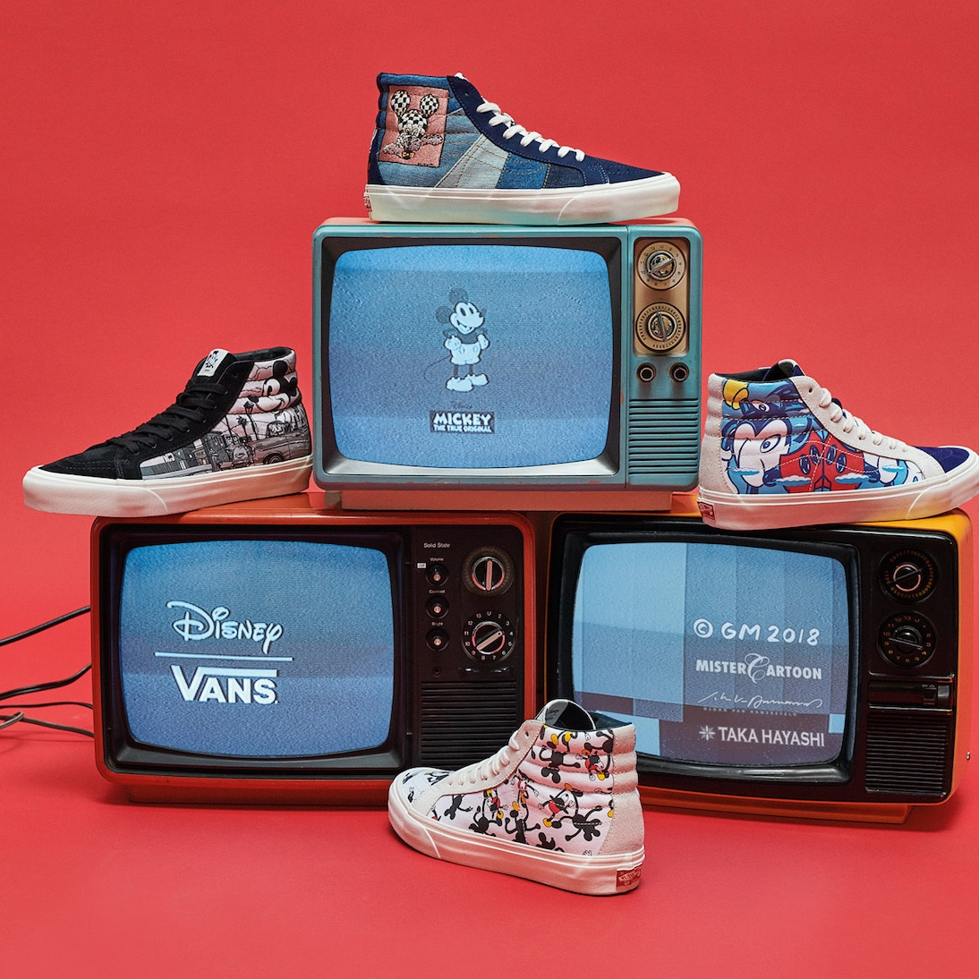 Vault by Vans Releases Four New Designs to Celebrate 90 Years of Mickey Mouse
