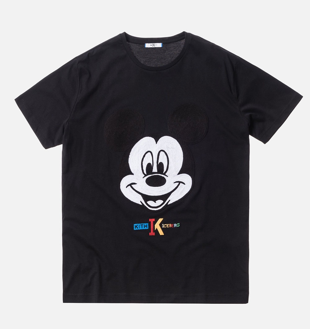 Tee shirt from the KITH X Iceberg Mickey Mouse Collection