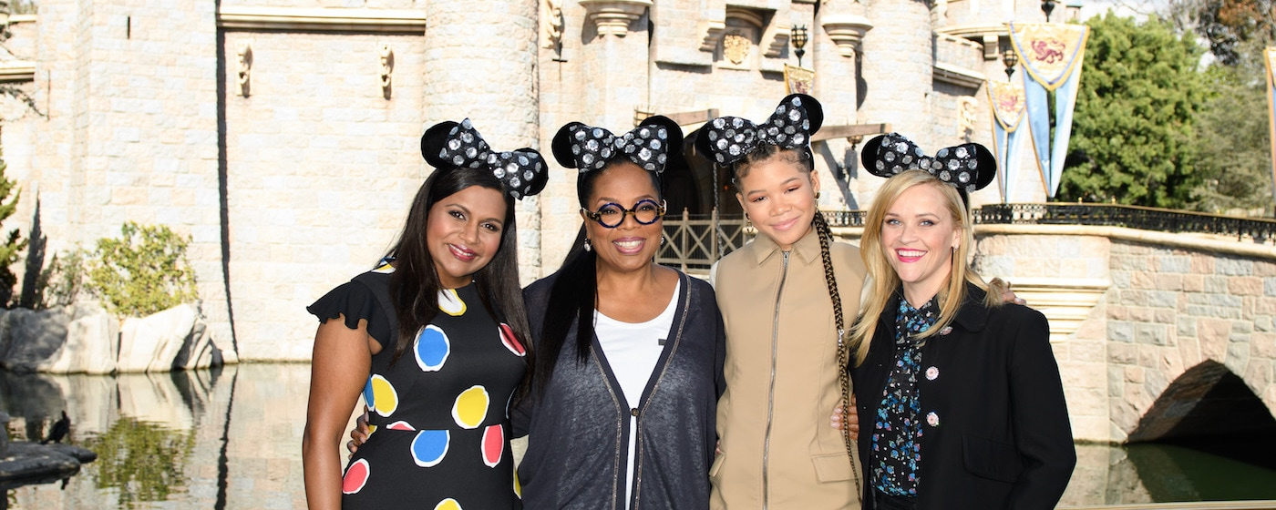 The Cast of A Wrinkle in Time at the Disneyland Resort
