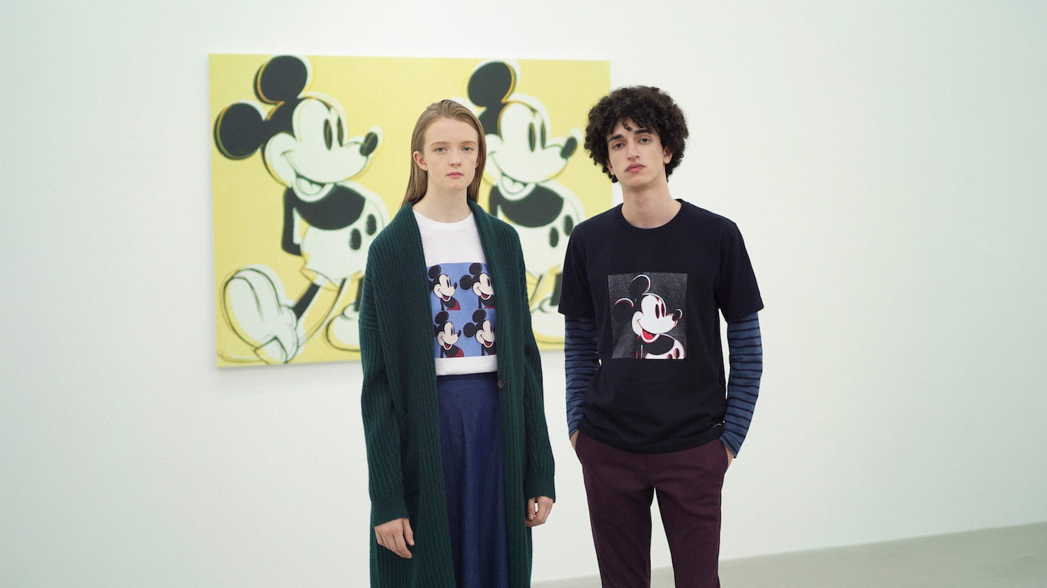 UNIQLO Brings Two Icons Together with the Mickey Mouse Art by Andy Warhol Collection