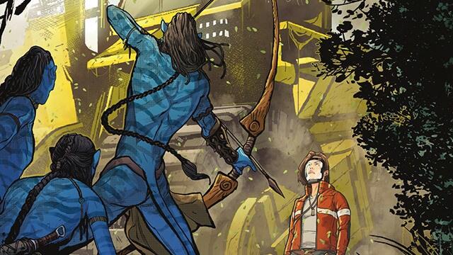 Dark Horse Comics Avatar Background