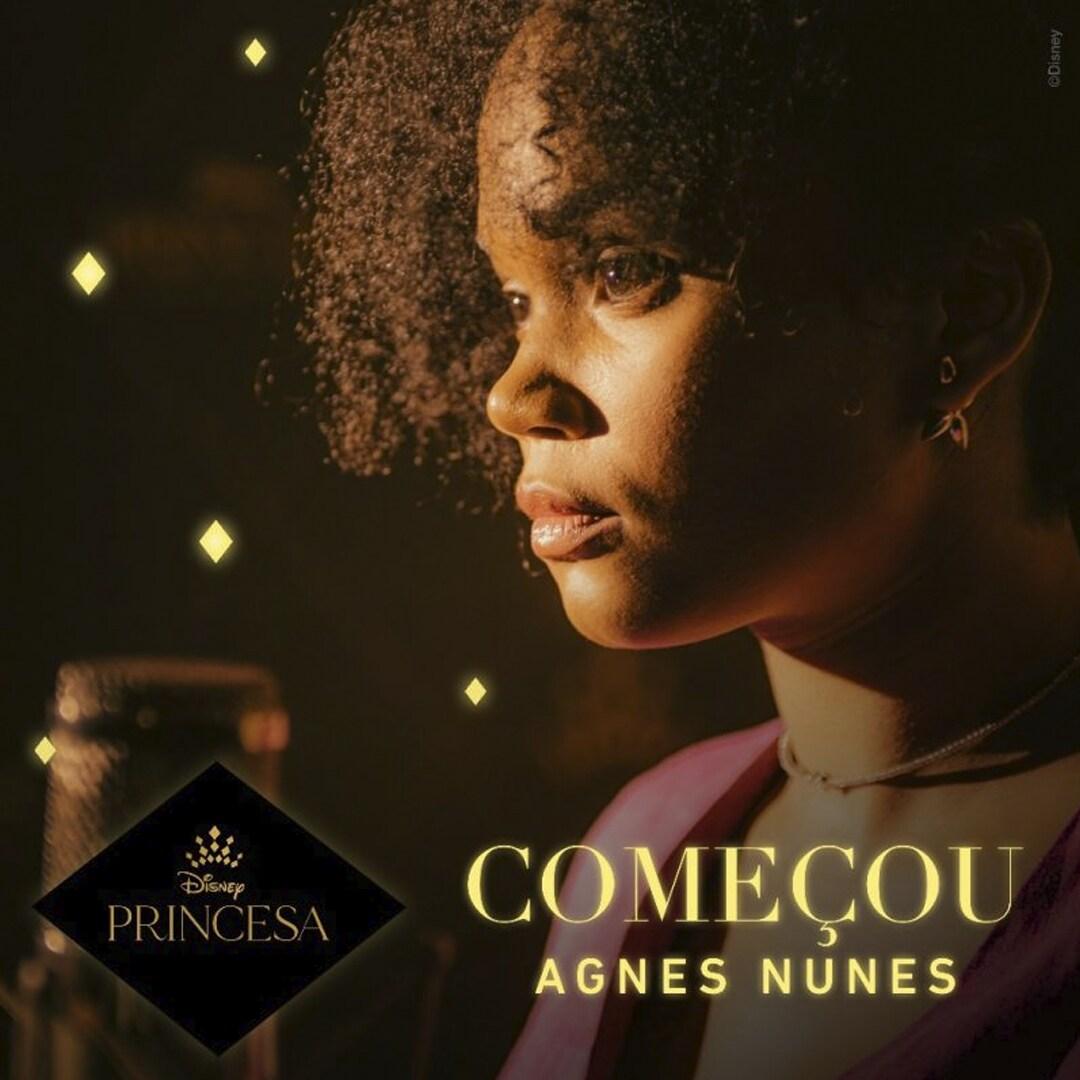 """Agnes Nunes é a voz brasileira de """"Começou"""", single original da campanha Disney Princesa - É Hora de Celebrar"""