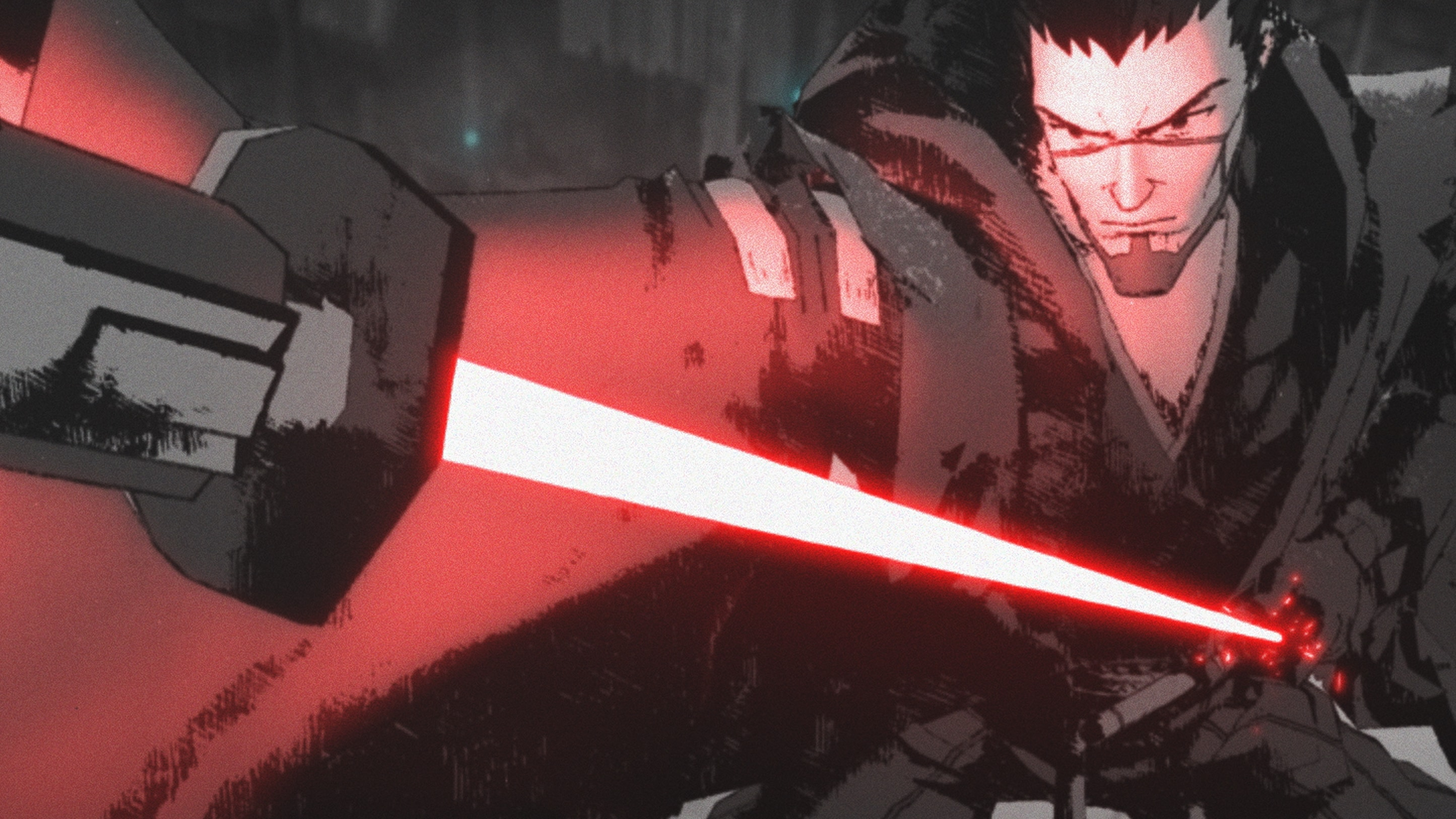 """Ronin (voiced by Masaki Terasoma in Japanese and Brian Tee in the English Dub) in a scene from """"STAR WARS: VISIONS"""" short, """"THE DUEL"""", exclusively on Disney+. © 2021 Lucasfilm Ltd. & ™. All Rights Reserved."""
