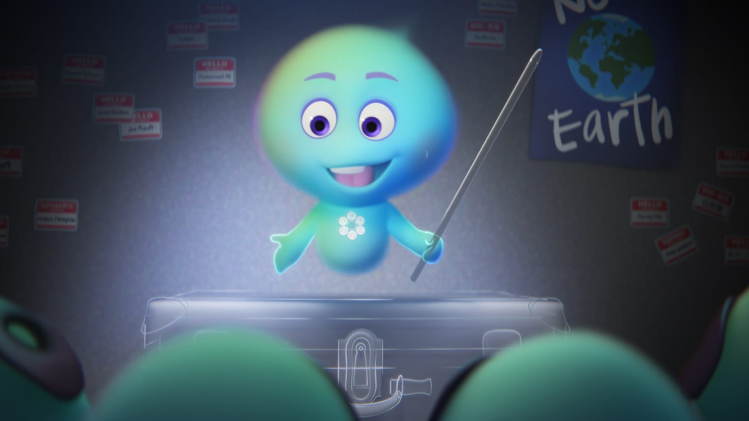 """In Pixar Animation Studios' """"22 vs. Earth,"""" new soul 22 (voice of Tina Fey) defies the rules of The Great Before and refuses to go to Earth, enlisting other new souls in her attempt at rebellion. Set before the events of Disney and Pixar's """"Soul,"""" """"22 vs. Earth"""" is directed by Kevin Nolting and produced by Lourdes Alba. © 2021 Disney/Pixar. All Rights Reserved."""