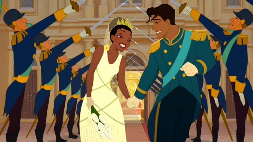 Still from The Princess and the Frog