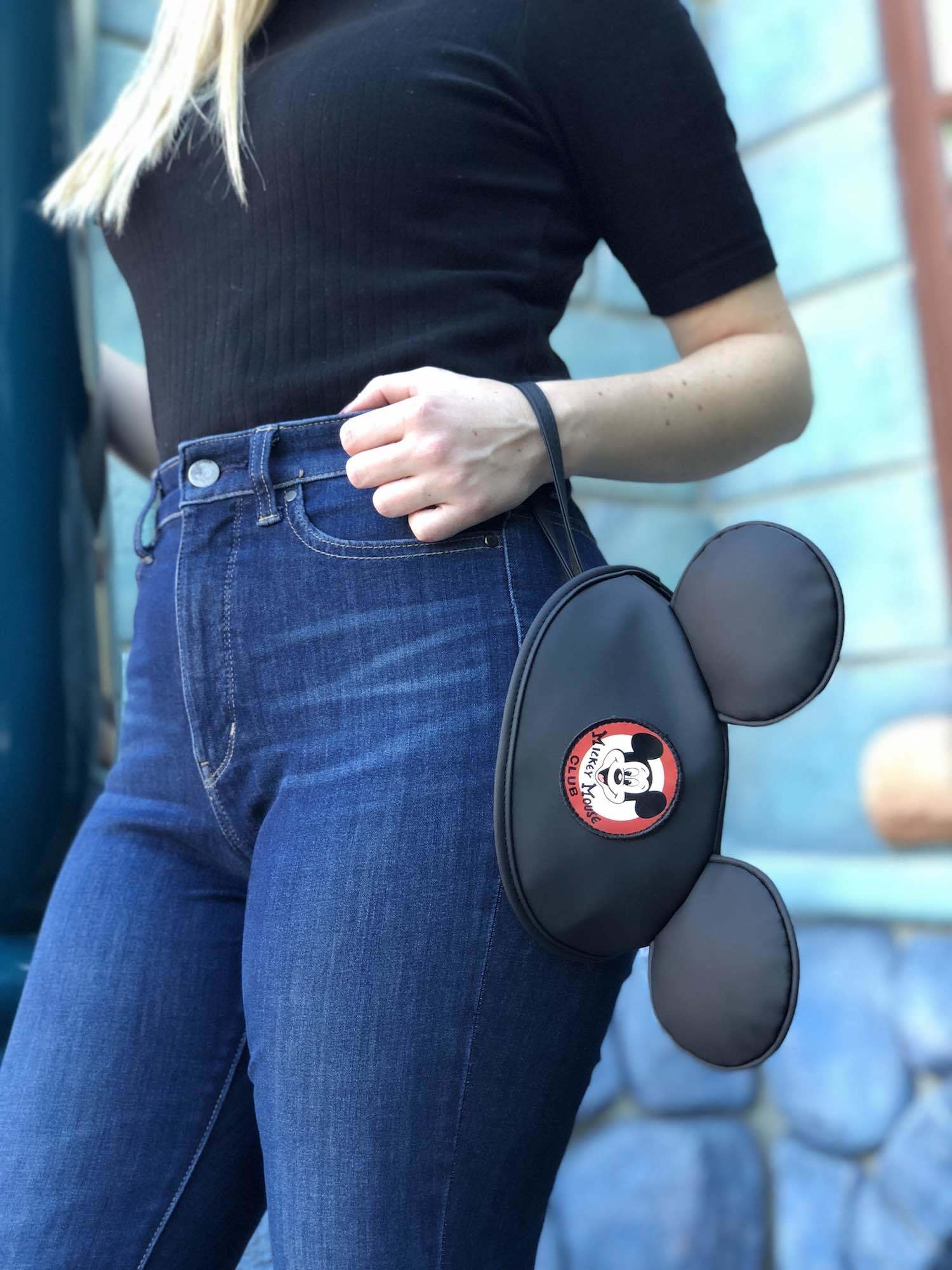 Mickey Mouse Club Hat wristlet
