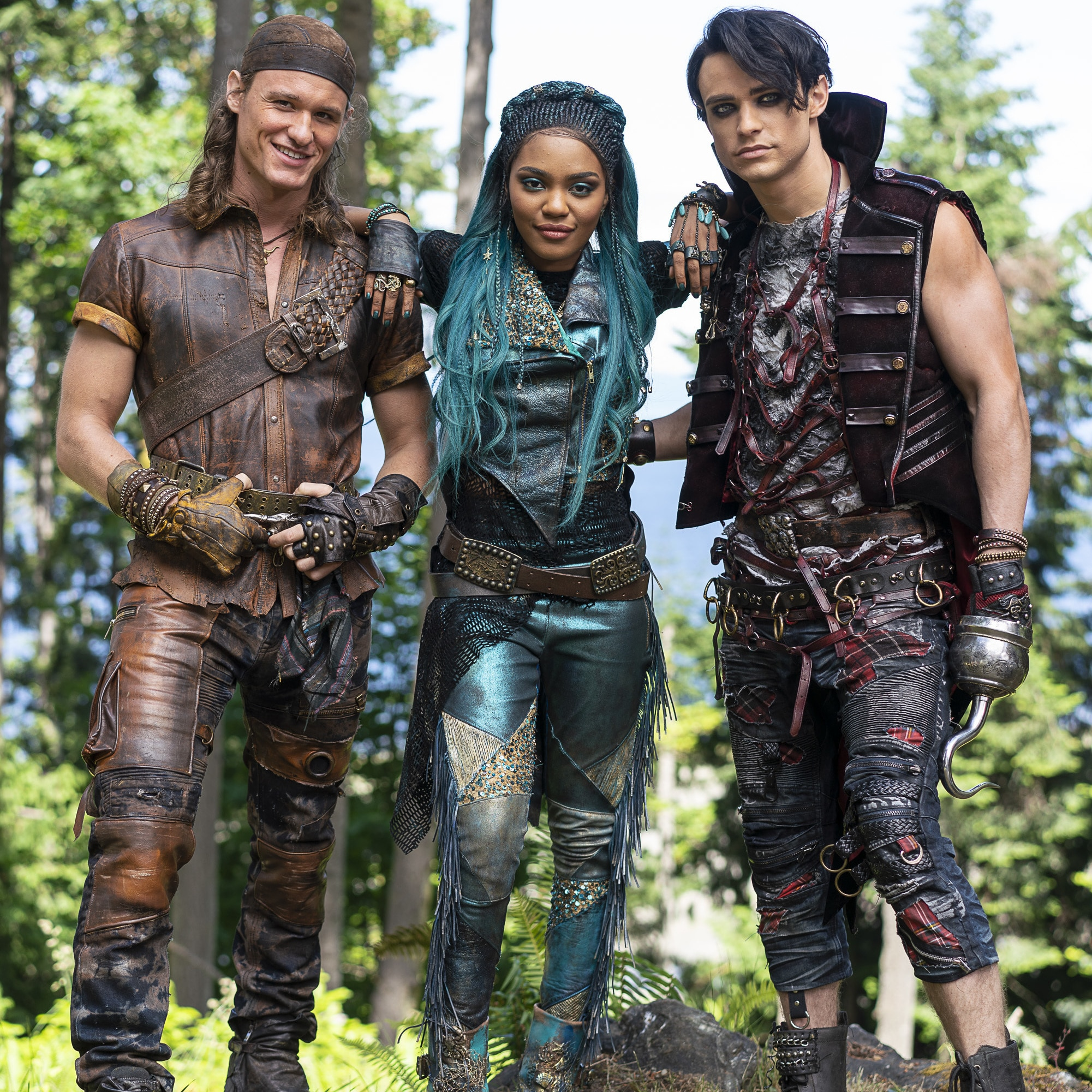 See the Descendants 3 Cast Rocking Their New VK Looks From the Set