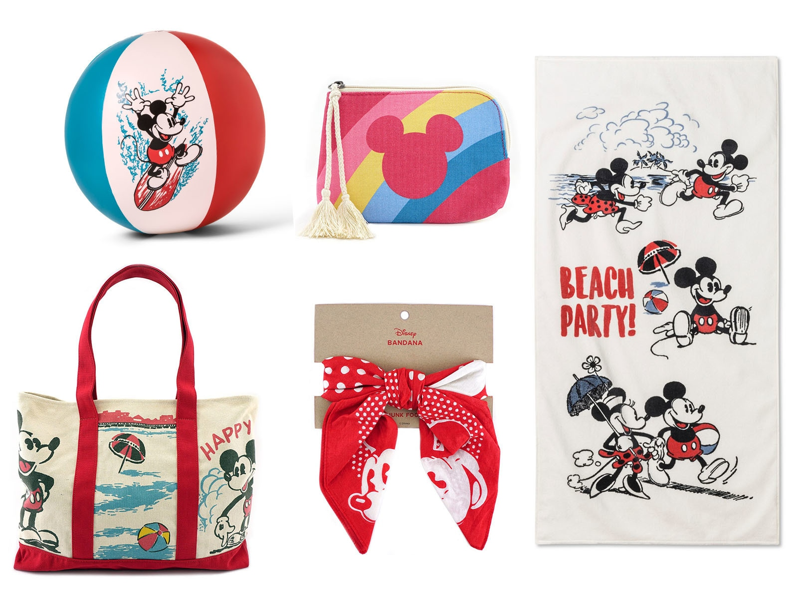 Clothes from Mickey Mouse Summer Collection