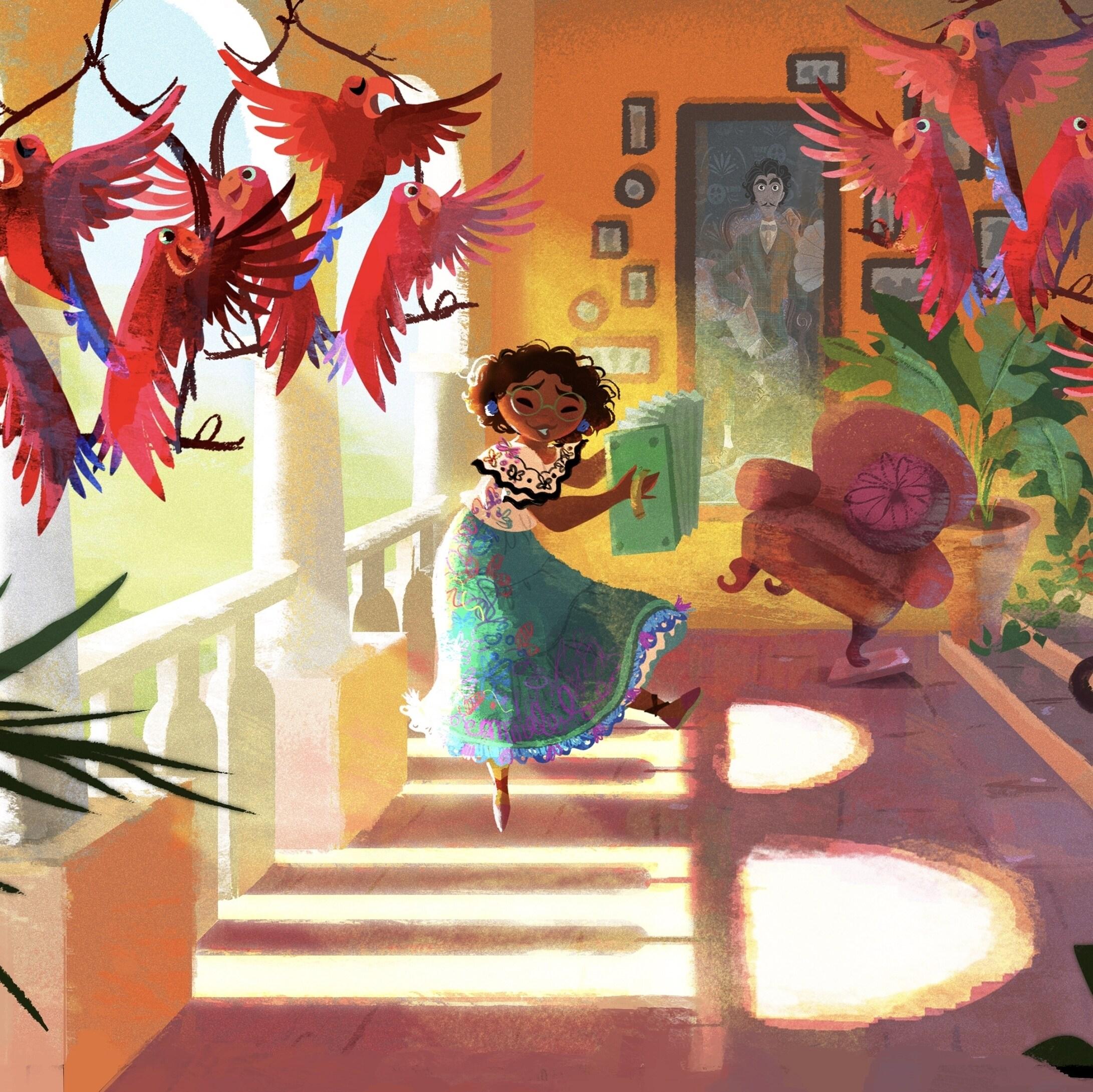 A Behind-the-Scenes Look at Walt Disney Animation Studios' Encanto