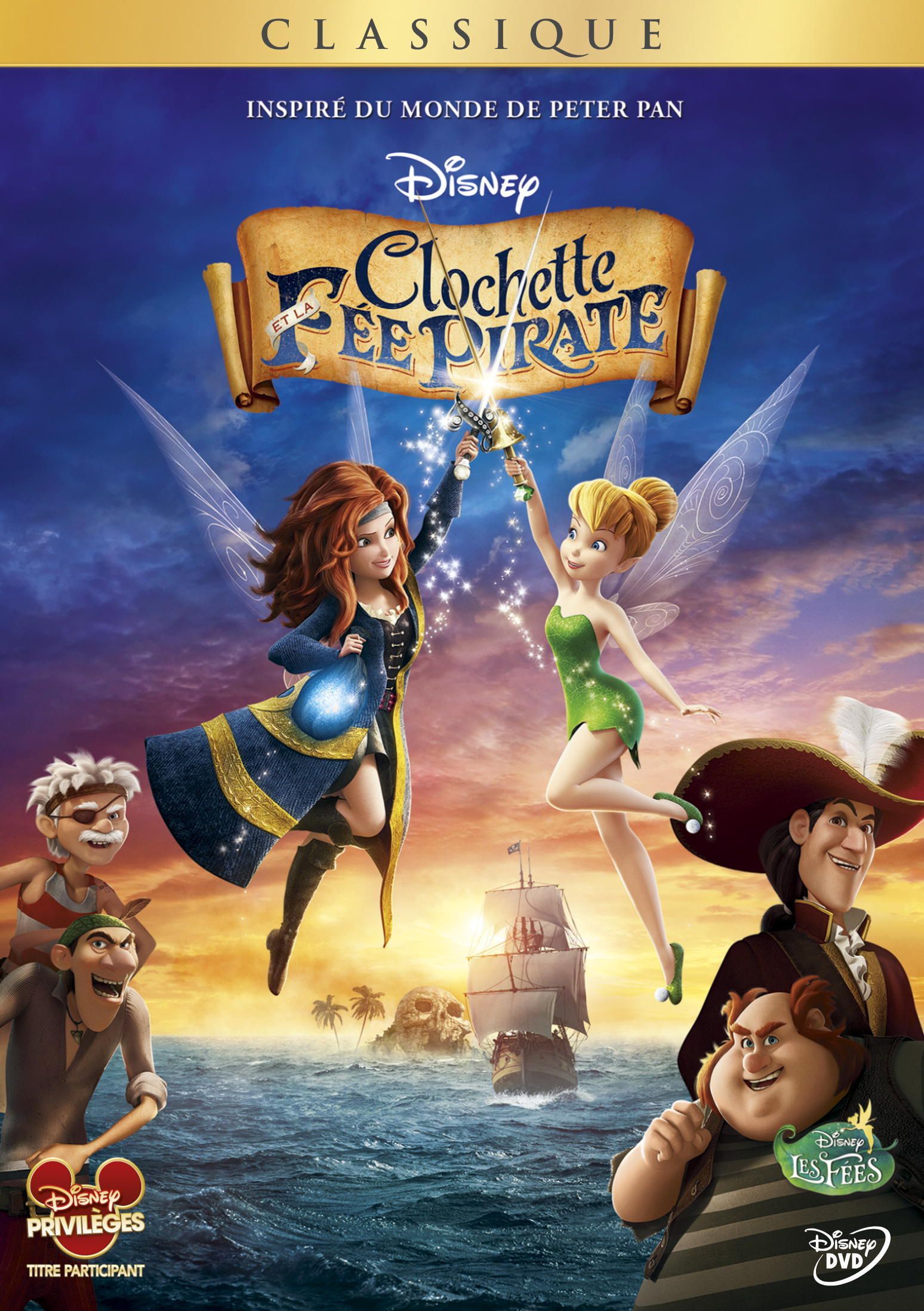DVD Clochette et la Fée Pirate
