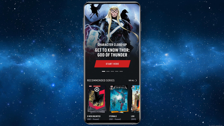 Thor App Screen Image