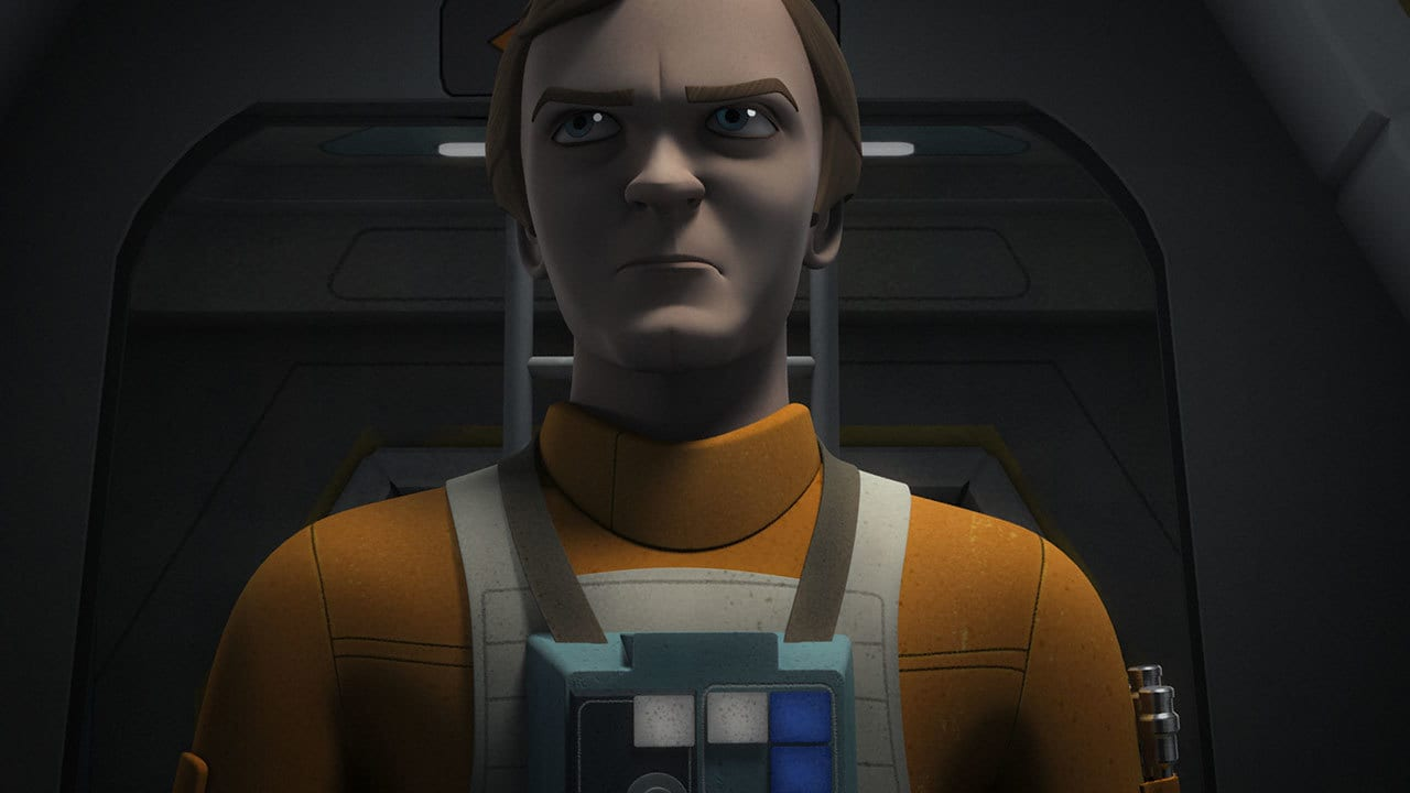 "Dutch Vander as portrayed in ""Star Wars Rebels"""