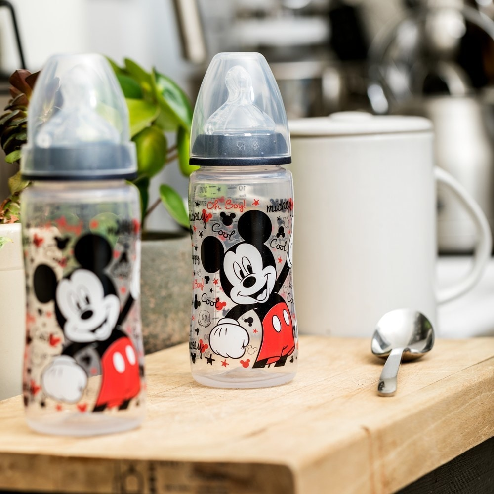 Mickey Mouse l Lot de 3 biberons Mickey 300ml