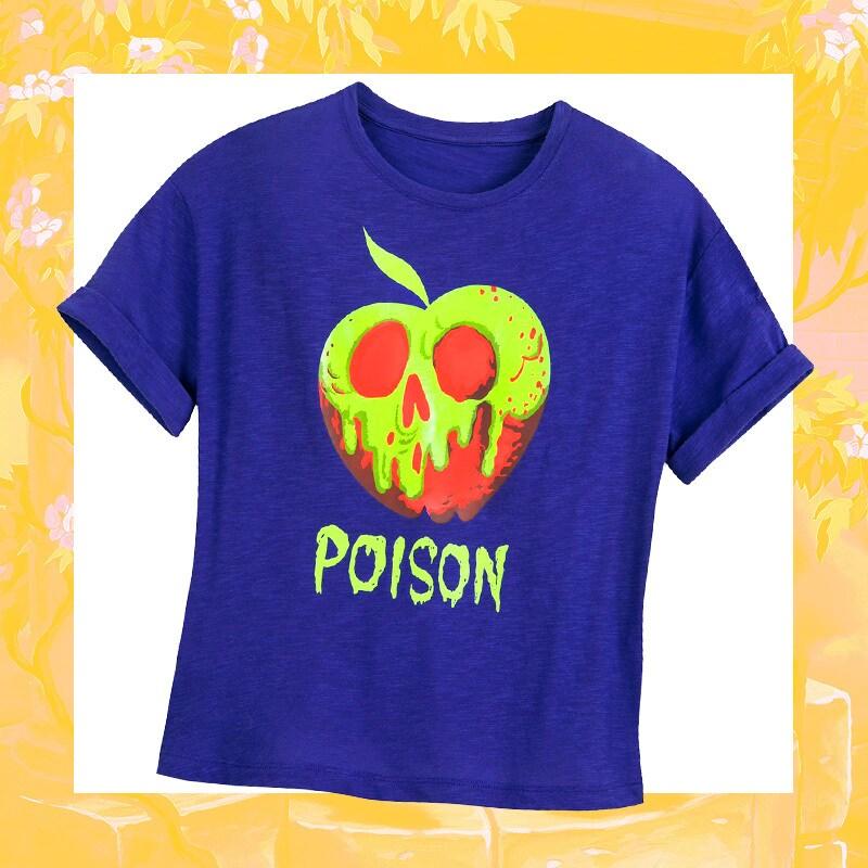 """""""Poison"""" purple pajama tee"""
