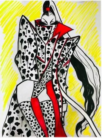The Blonds Cruella de Vil Sketch