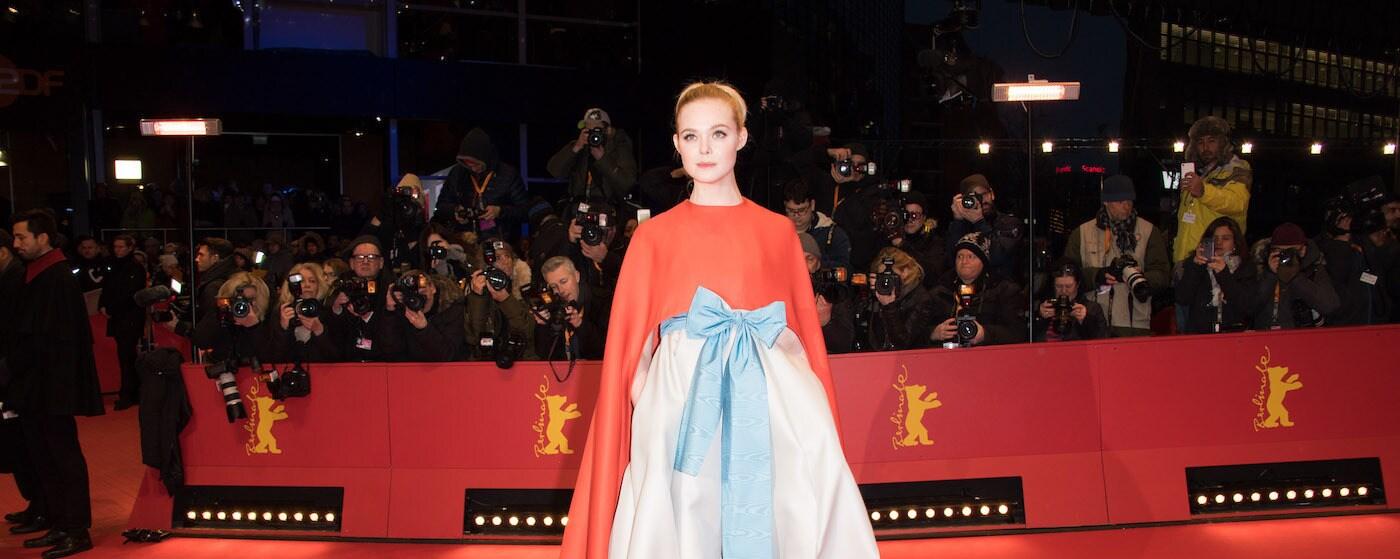 Elle Fanning at the Berlin International Film Festival
