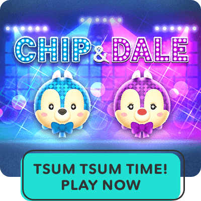 Hero Stream - Tsum Tsum - Chip N Dale