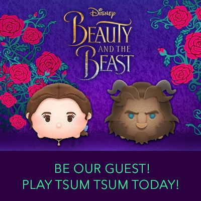 Get the Tsum Tsum Beauty and the Beast Update