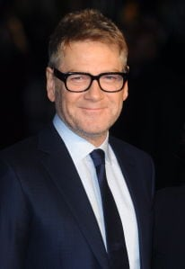 Artemis Fowl director Kenneth Branagh in a suit.