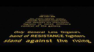 Star Wars: Episode VIII The Last Jedi Opening Crawl