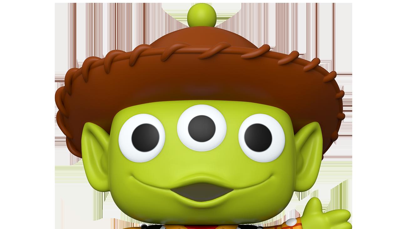 Pixar - Alien as Woody - 10 inch POP