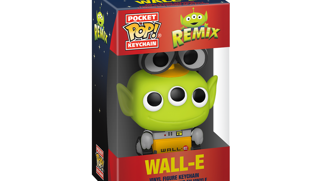 Pixar - Alien as Wall-E - Keychain
