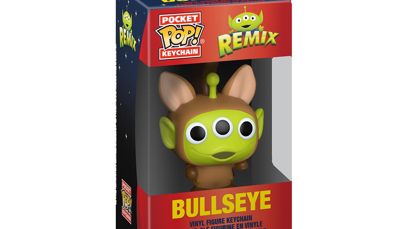 Pixar - Alien as Bullseye - Keychain