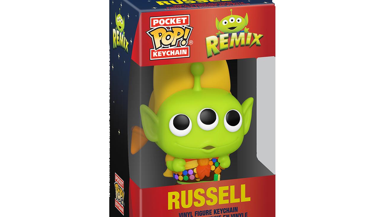 Pixar - Alien as Russell - Keychain