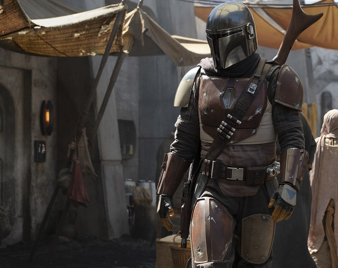 Still from Disney+ show 'The Mandalorian'