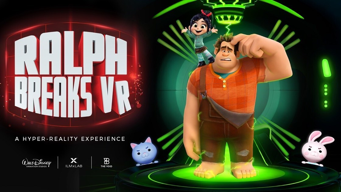 Break the Virtual Reality World With Ralph and Vanellope In a New Hyper Reality Immersive Experience