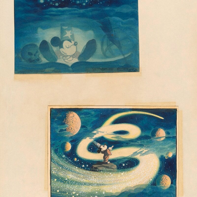Concept Art to Celebrate 90 Years of Mickey Mouse