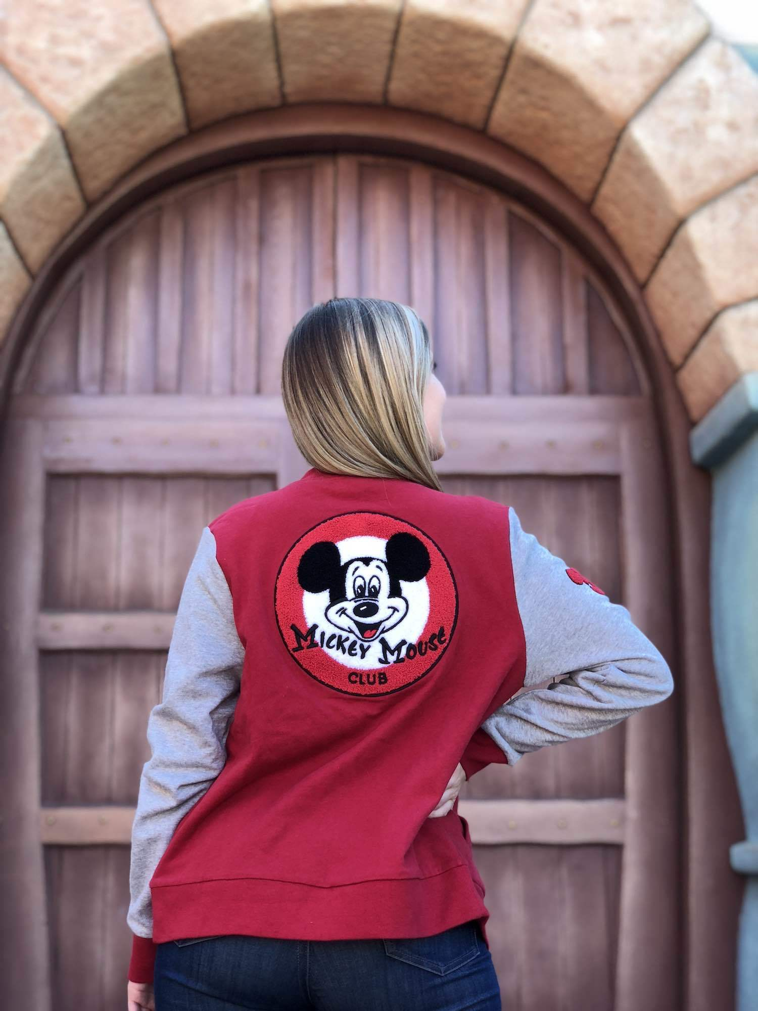 Letterman Mickey Mouse Club Hoodie