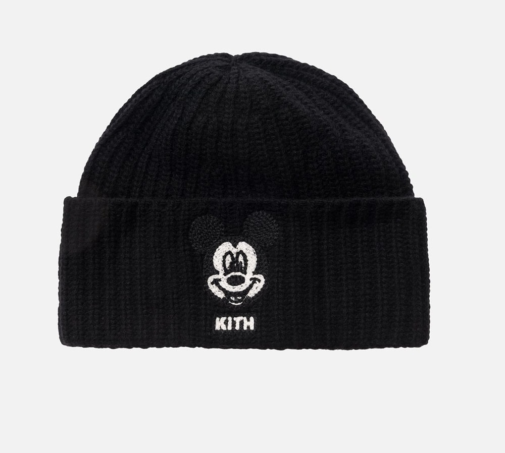 Beanie from the KITH X Iceberg Mickey Mouse Collection