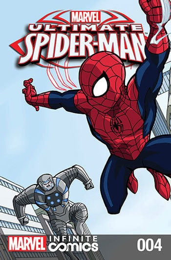ULTIMATE SPIDER-MAN INFINITE DIGITAL COMIC #4