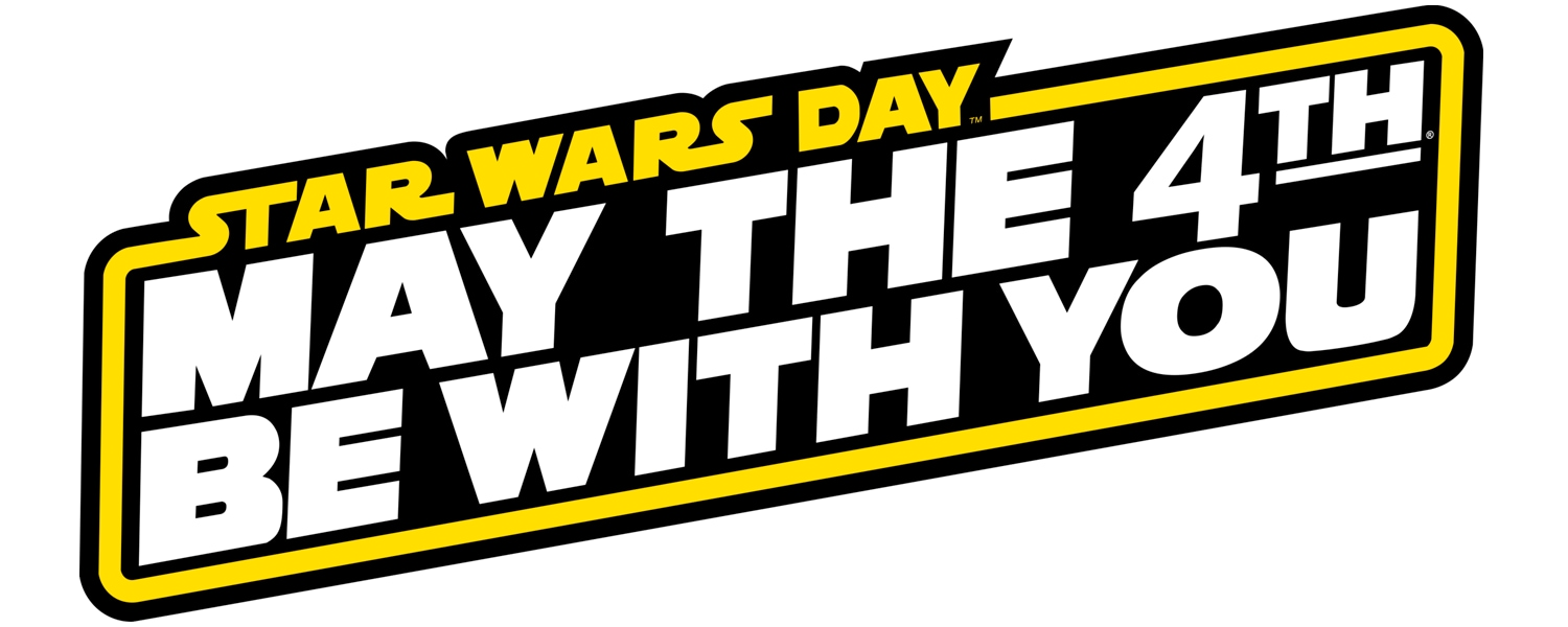 Logo May The 4th Be With You