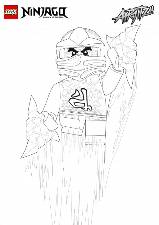Ninjago Airjitzu para colorir #4