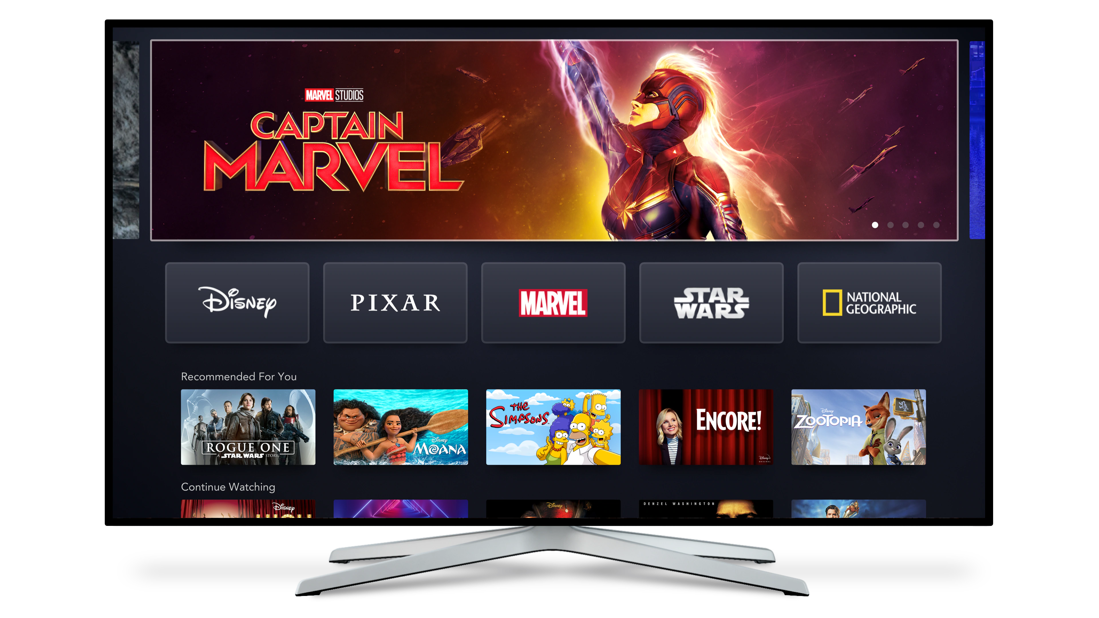 Disney+ Connected TV
