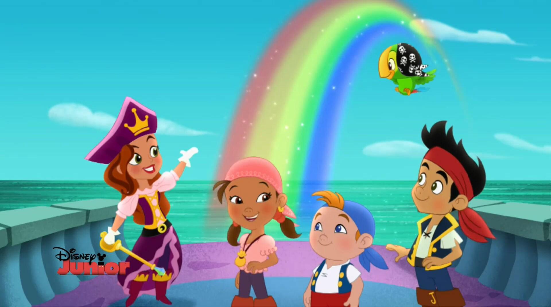 jake und die nimmerland piraten - disney junior, Einladungsentwurf