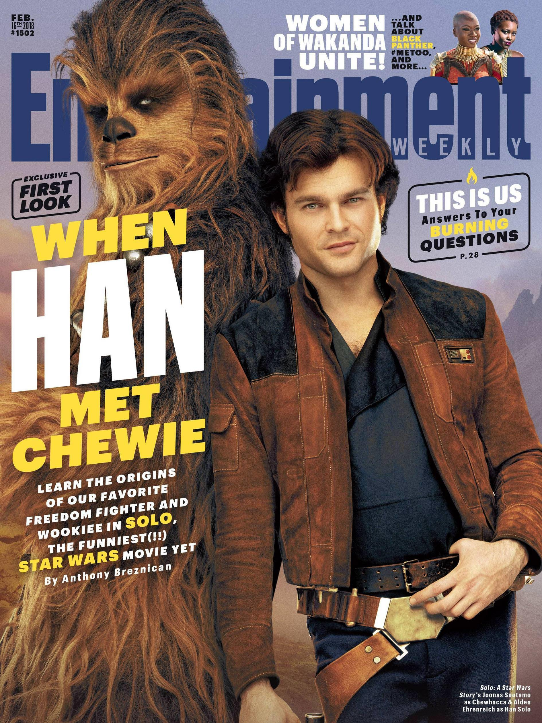 entertainment weekly cover solo